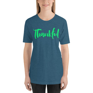 Thankful Short-Sleeve Unisex T-Shirt