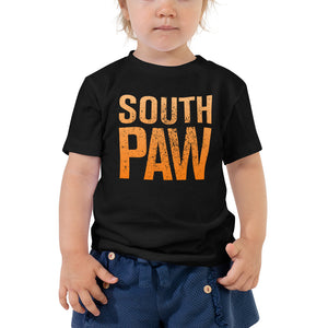 South Paw Toddler Short Sleeve Tee,  - PureDesignTees
