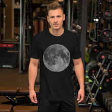 Load image into Gallery viewer, Big Full Moon Short-Sleeve Unisex T-Shirt-T-Shirt-PureDesignTees