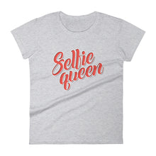 Load image into Gallery viewer, Selfie Queen Women's short sleeve t-shirt-T-Shirt-PureDesignTees