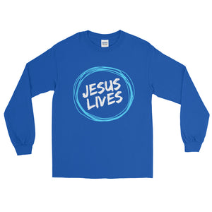 Jesus Lives Long Sleeve T-Shirt - PureDesignTees