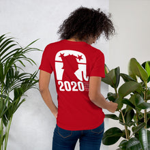 Load image into Gallery viewer, Trump 2020 Front Back and Sleeve Print Short-Sleeve Unisex T-Shirt