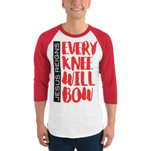 Load image into Gallery viewer, Every Knew Will Bow 3/4 sleeve raglan shirt-t-shirt-PureDesignTees