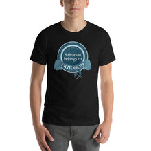 Load image into Gallery viewer, Salvation Belongs to Our God Short-Sleeve Unisex T-Shirt-T-shirt-PureDesignTees