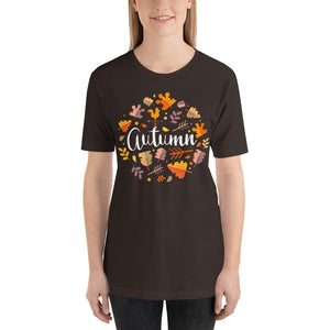 Autumn Design Short-Sleeve Unisex T-Shirt-t-shirt-PureDesignTees