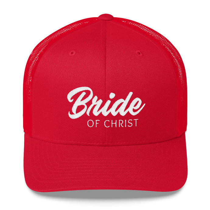 Bride of Christ Trucker Cap-Hat-PureDesignTees