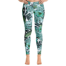 Load image into Gallery viewer, Jungle Foliage Leggings-Leggings-PureDesignTees