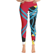 Load image into Gallery viewer, Abstract Leggings-Leggings-PureDesignTees