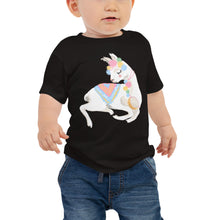 Load image into Gallery viewer, Decorated Llama Baby Jersey Short Sleeve Tee-t-shirt-PureDesignTees