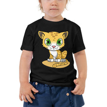 Load image into Gallery viewer, Leopard Cub Toddler Short Sleeve Tee-T-shirt-PureDesignTees