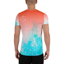 Load image into Gallery viewer, Momentum All-Over Print Men's Athletic T-shirt-Athletic T-Shirt-PureDesignTees