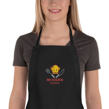 Load image into Gallery viewer, My Kitchen My Rules Embroidered Apron-Embroidered Apron-PureDesignTees