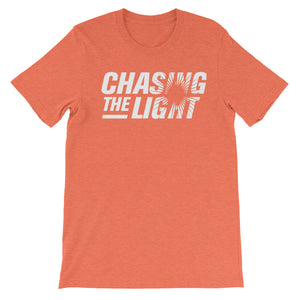 Chasing the Light Unisex short sleeve t-shirt-T-Shirt-PureDesignTees