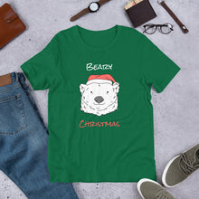 Load image into Gallery viewer, Beary Christmas Short-Sleeve Unisex T-Shirt-t-shirt-PureDesignTees