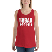 Load image into Gallery viewer, Saban Nation Unisex Tank Top-Tank Top-PureDesignTees