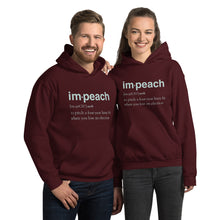 Load image into Gallery viewer, Definition of Impeach Unisex Hoodie-Hoodie-PureDesignTees