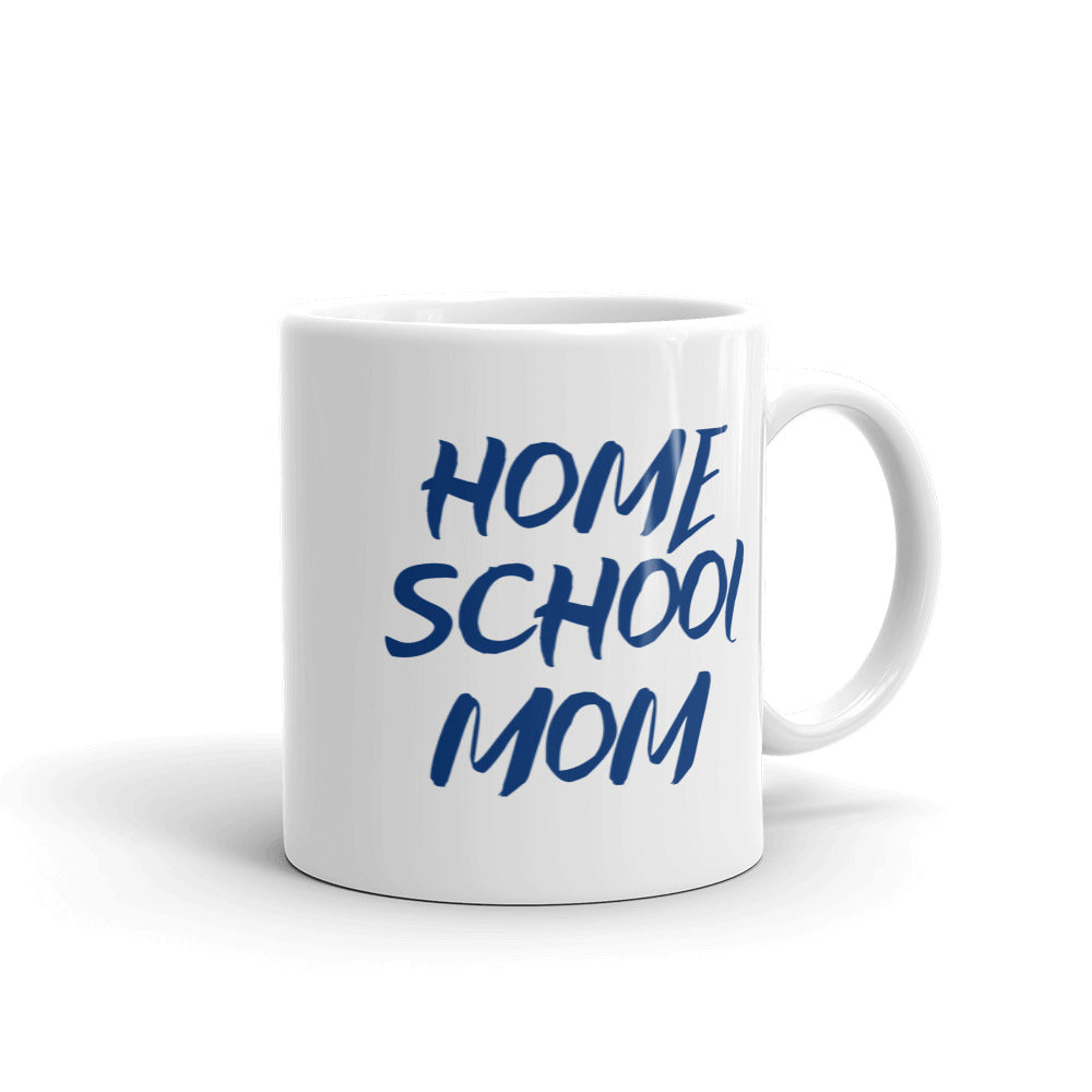 Homeschool Mom Mug - PureDesignTees