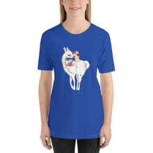 Load image into Gallery viewer, Lovely Llama Short-Sleeve Unisex T-Shirt-PureDesignTees