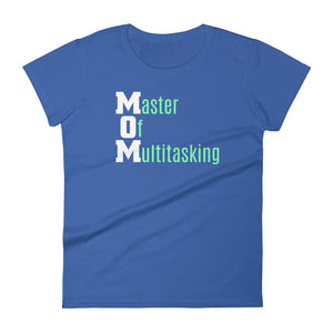 Mom - Master of Multitasking Women's short sleeve t-shirt-T-Shirt-PureDesignTees
