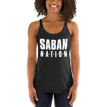 Load image into Gallery viewer, Saban Nation Women's Racerback Tank-Racerback Tank-PureDesignTees
