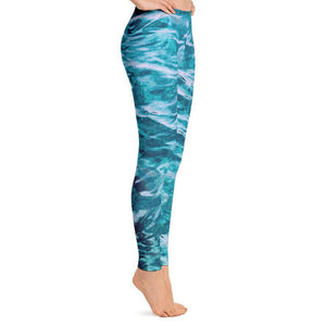 Beautiful Sea Leggings, Leggings - PureDesignTees