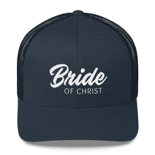 Load image into Gallery viewer, Bride of Christ Trucker Cap-Hat-PureDesignTees