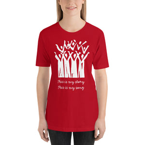 Choir This is My Story This is My Song Short-Sleeve Unisex T-Shirt-T-shirt-PureDesignTees