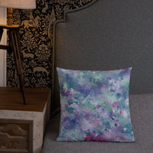 Load image into Gallery viewer, Colorful Splatter Premium Pillow-Throw Pillow-PureDesignTees