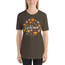 Load image into Gallery viewer, Autumn Design Short-Sleeve Unisex T-Shirt-t-shirt-PureDesignTees