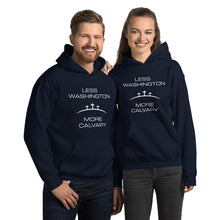 Load image into Gallery viewer, Less Washington More Calvary Unisex Hoodie-Hoodie-PureDesignTees