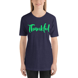 Thankful Short-Sleeve Unisex T-Shirt-T-shirt-PureDesignTees