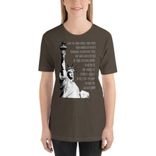 Load image into Gallery viewer, Statue of Liberty Short-Sleeve Unisex T-Shirt-t-shirt-PureDesignTees