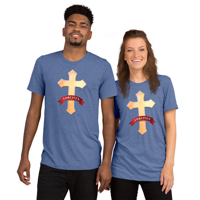 Forgiven Tri-blend Short sleeve t-shirt