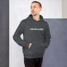 Load image into Gallery viewer, Never Alone Unisex Hoodie-PureDesignTees