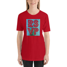 Load image into Gallery viewer, RSVP Short-Sleeve Unisex T-Shirt-t-shirt-PureDesignTees