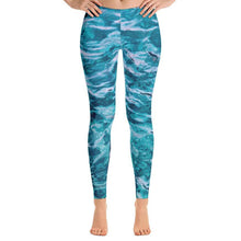 Load image into Gallery viewer, Beautiful Sea Leggings-Leggings-PureDesignTees