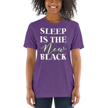 Load image into Gallery viewer, Sleep is the New Black Short sleeve t-shirt-T-shirt-PureDesignTees