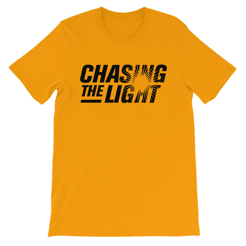 Chasing the Light Unisex short sleeve t-shirt - PureDesignTees
