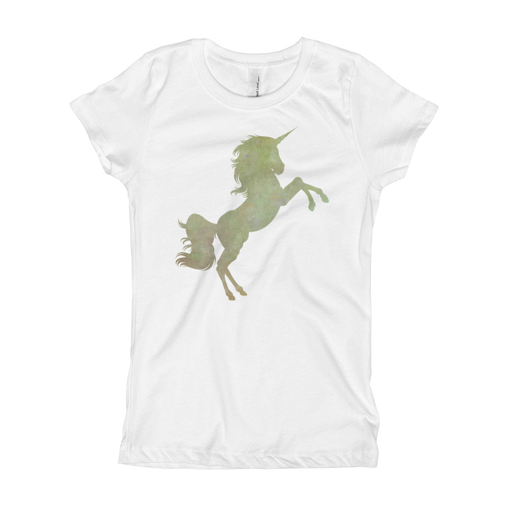 Unicorn Girl's T-Shirt-PureDesignTees