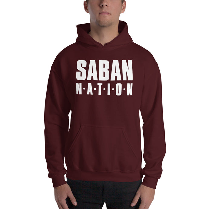 Saban Nation Hooded Sweatshirt, hoodie - PureDesignTees