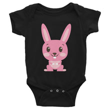 Load image into Gallery viewer, Cute Pink Bunny Infant Bodysuit-Onesie-PureDesignTees
