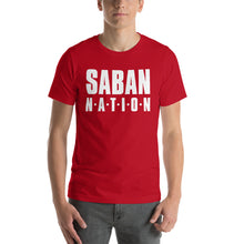 Load image into Gallery viewer, Saban Nation Short-Sleeve Unisex T-Shirt-T-shirt-PureDesignTees