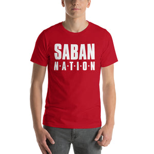 Saban Nation Short-Sleeve Unisex T-Shirt-T-shirt-PureDesignTees