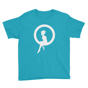 Fairy Sitting on a Ring Youth Short Sleeve T-Shirt, T-shirt - PureDesignTees