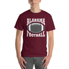 Load image into Gallery viewer, Alabama Football Short-Sleeve T-Shirt-T-shirt-PureDesignTees