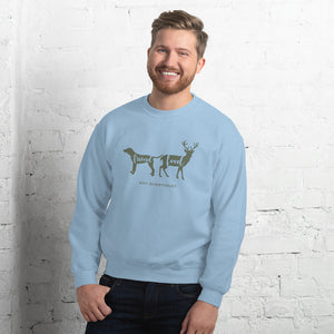 Friend Food Any Questions? Sweatshirt-Sweatshirt-PureDesignTees