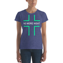 Load image into Gallery viewer, No More Night Women's short sleeve t-shirt-t-shirt-PureDesignTees