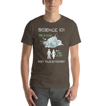 Load image into Gallery viewer, Science 101 - This is Fluid, This is Not Short-Sleeve Unisex T-Shirt-T-shirt-PureDesignTees