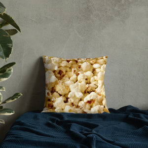 Popcorn Texture Premium Pillow-Throw Pillow-PureDesignTees