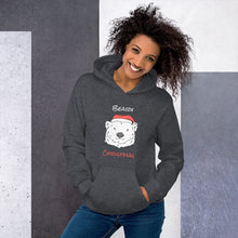 Load image into Gallery viewer, Beary Christmas Unisex Hoodie-hoodie-PureDesignTees